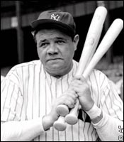 Babe Ruth its the winning percentage that matters