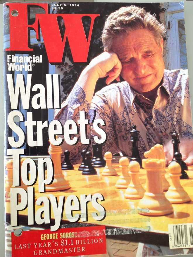 Wall Streets Top Players - George Soros