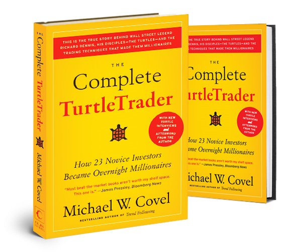 The Complete TurtleTrader Book by Michael W. Covel
