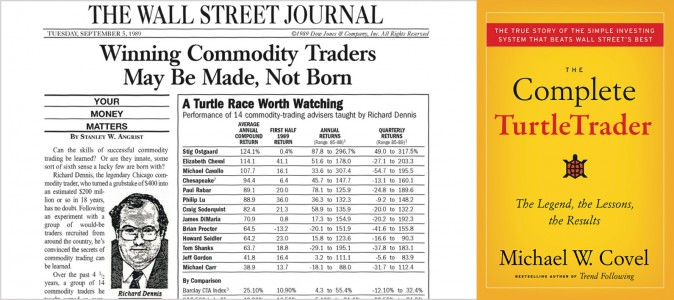 Turtle trading rules review